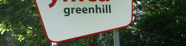 YMCA Greenhill in Newcastle - Eingang